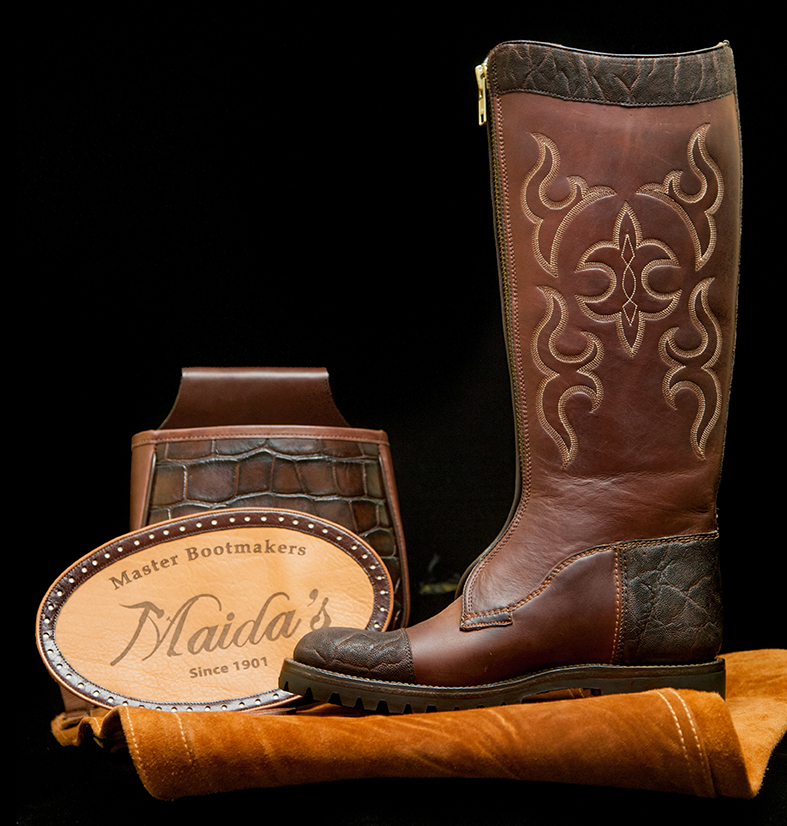 59e58d39c5b Snake Proof Hunting Boot - Maida's Custom Footwear