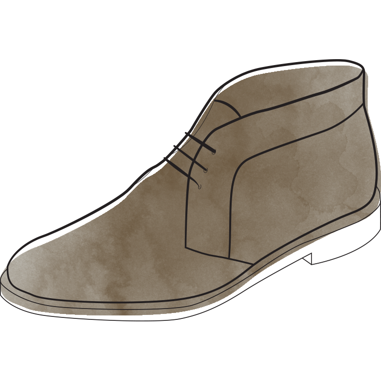 41912cfc9f0 The Chukka Boot - Maida's Custom Footwear